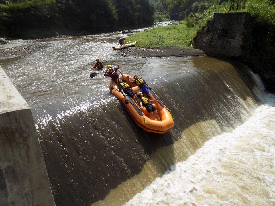 tempat rafting di pujon - batu - malang