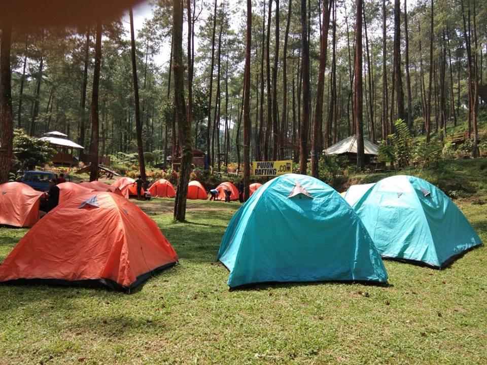 camping pujon rafting