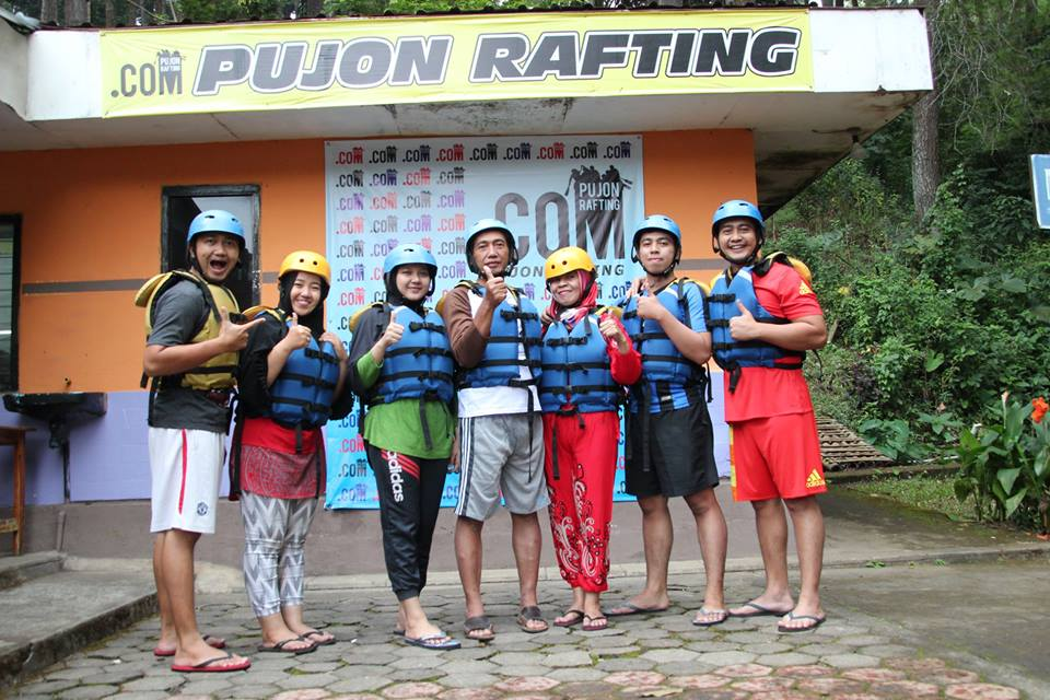 Rafting di Batu Malang - Pujon Rafting