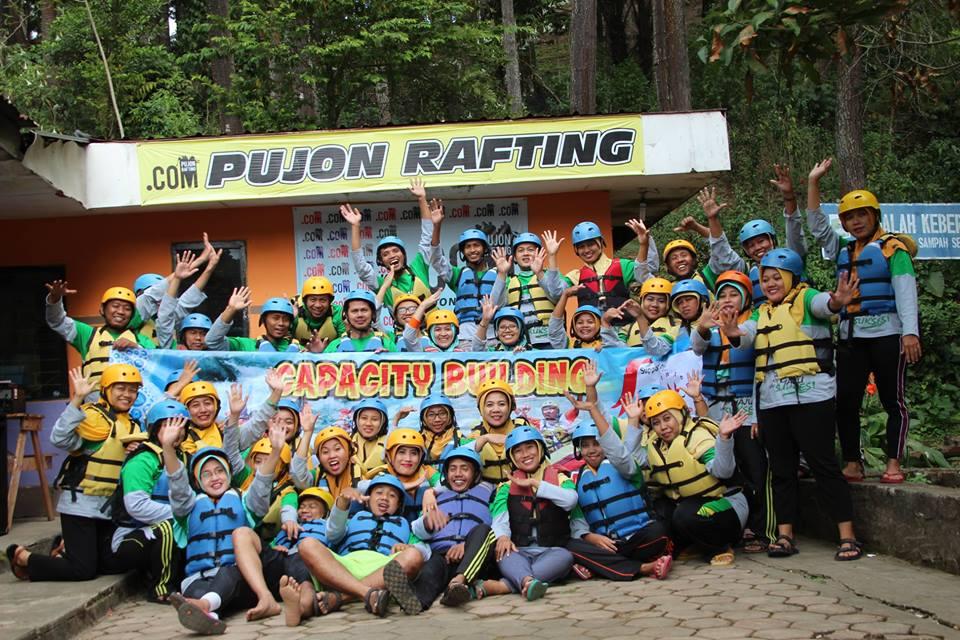 Rafting di Malang - Pujon Rafting