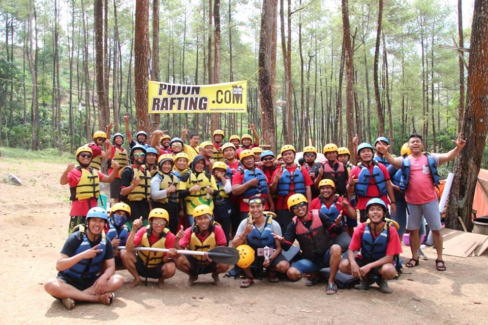 Malang rafting di pujon Rafting