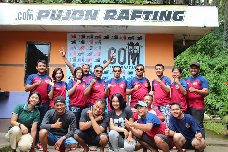 Rafting dan Paintball Pujon Rafting