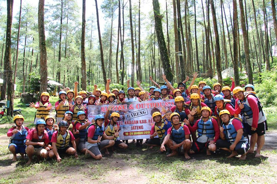 Rafting dan Outbound PPS Kec. Kragan Kab. Rembang Jawa Tengah 20 Januari 2019