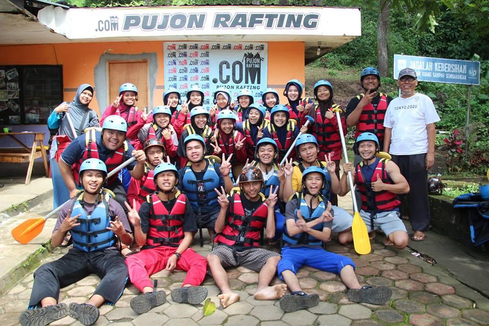 Rafting di Malang