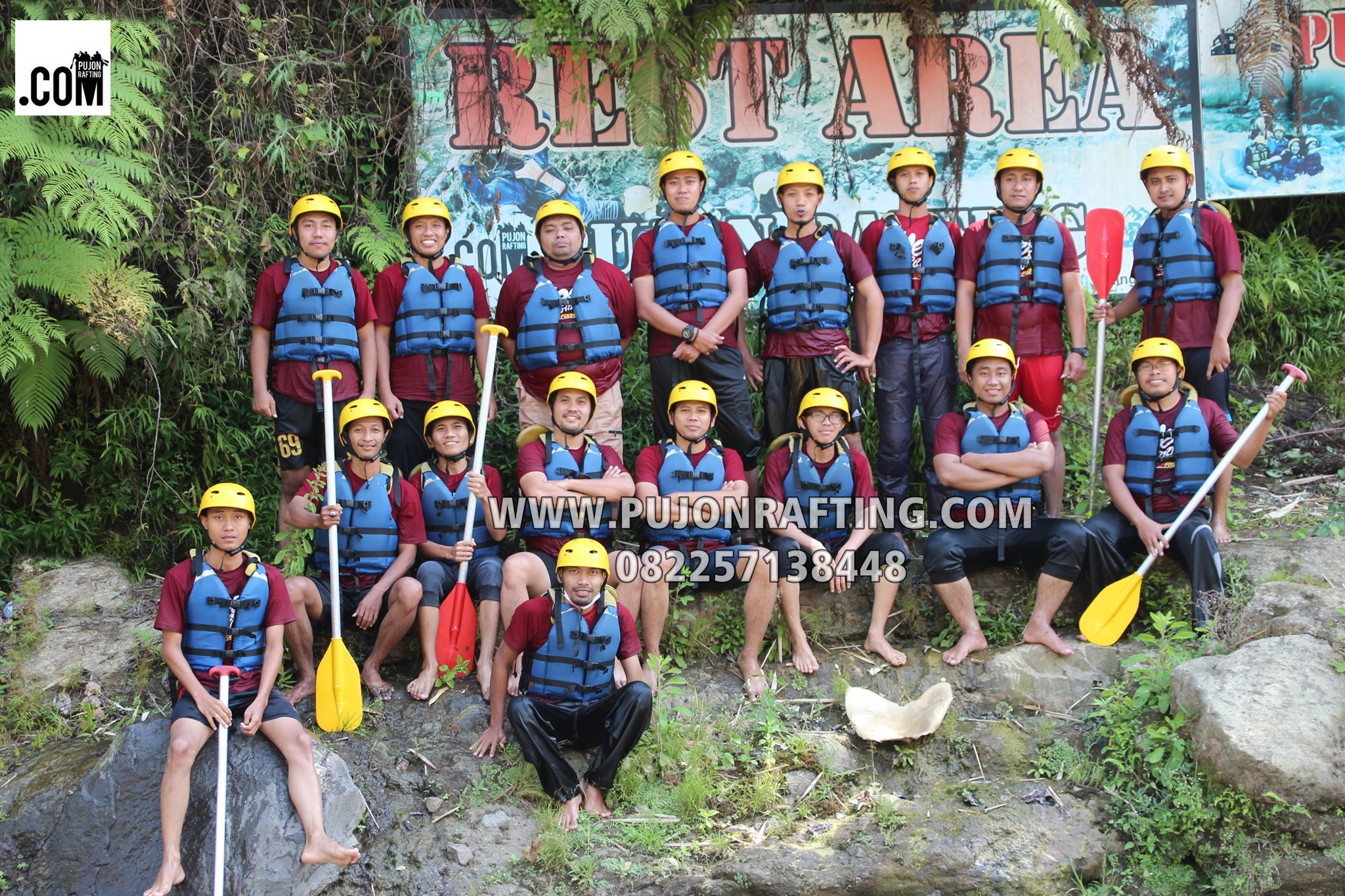 rest area pujon rafting