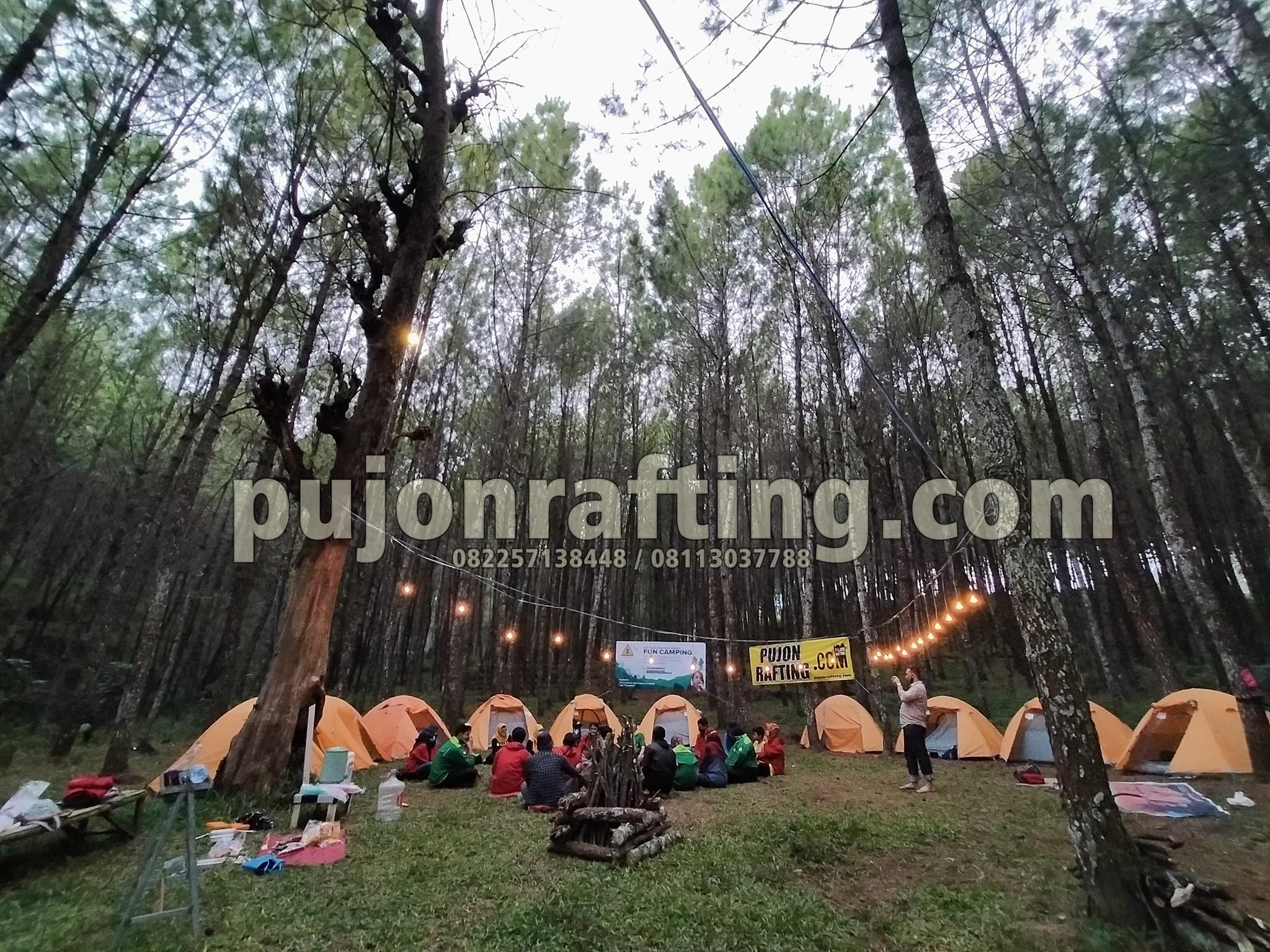 tempat camping di pujon